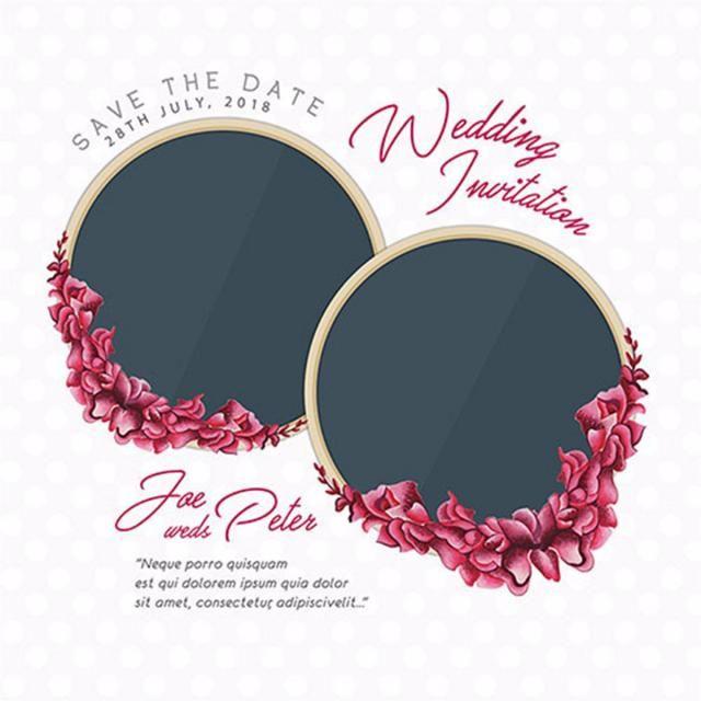 بطاقة الأزهار المائية زهري بطاقة دعوة رسم Png والمتجهات للتحميل مجانا Watercolor Floral Wedding Invitations Floral Watercolor Floral Cards