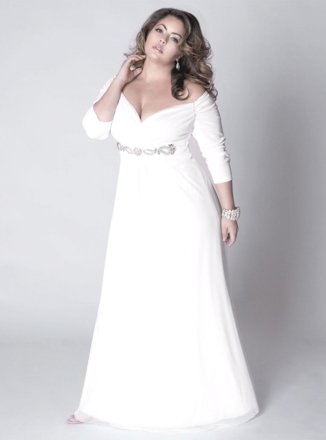 Plus Size Second Wedding Gowns