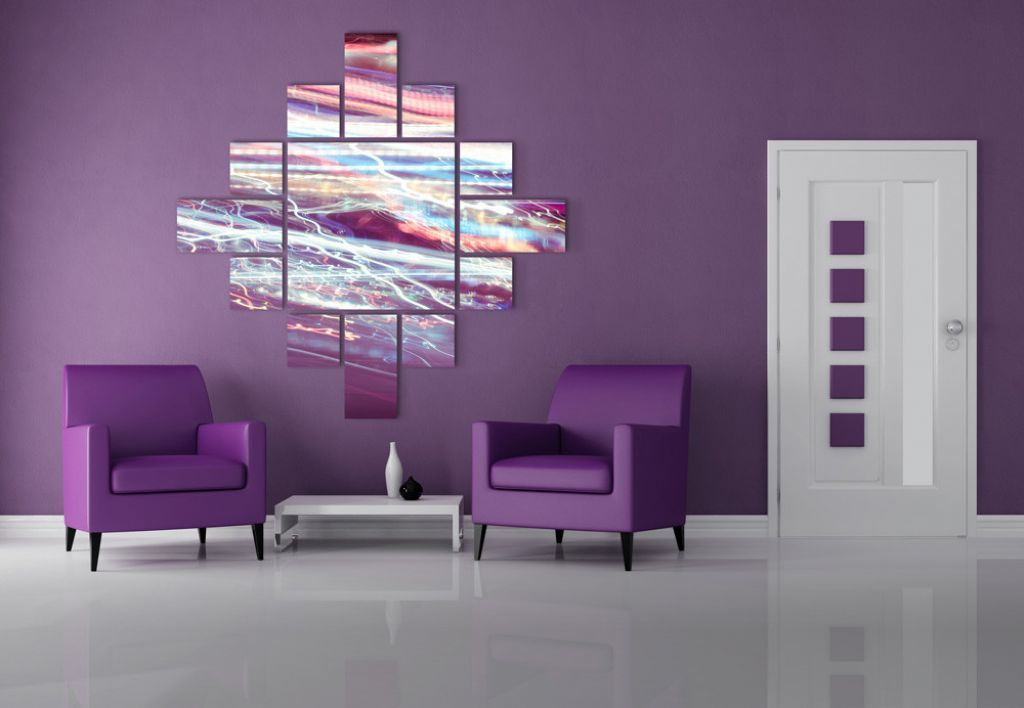 Bedroom:Cool Purple Room Decorating Ideas Feat Upholstered Leather Accent  Chairs And Attractive Wall Art Elegant Purple Bedroom Design Ideas.