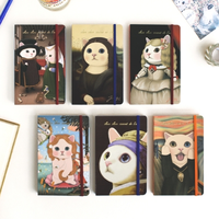 Kitty Art Theme Notebook