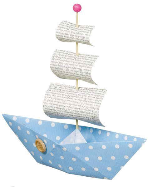 Photo of Tinkerpapirbåter til barnebursdag – DIY-instruksjoner via Makerist.de