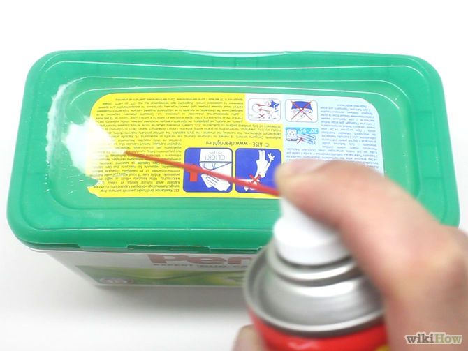 Remove A Sticker From Plastic Cleaning Hacks Deep Cleaning Tips