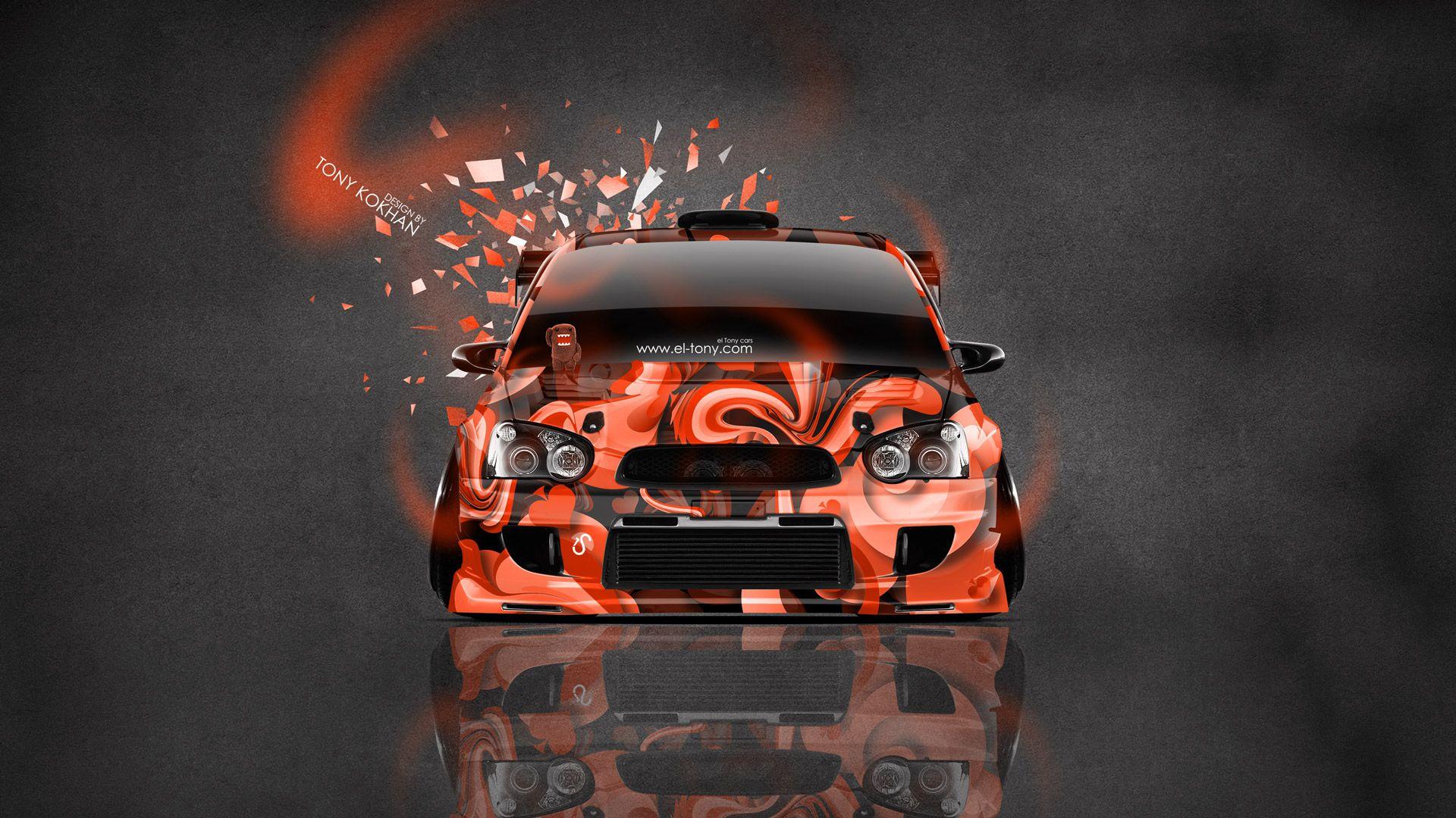 Subaru wrx jdm sti cars hd wallpaper - Wrx Art Subaru Impreza Wrx Sti Jdm Tuning Front
