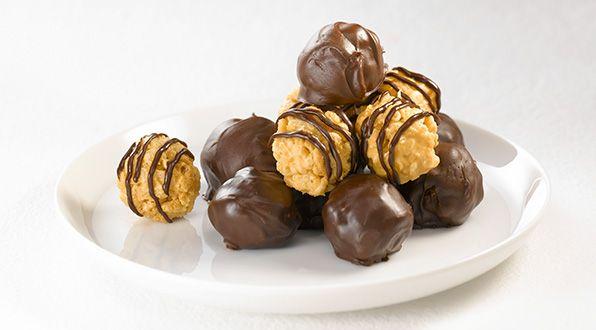 Peanut Butter Balls Christmas Baking Pinterest Desserts