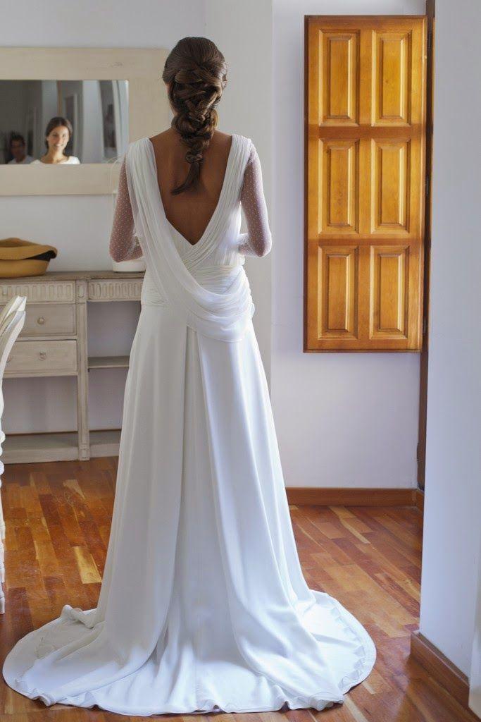 vestido novia isabel nuñez | novias | pinterest | vestidos de novia