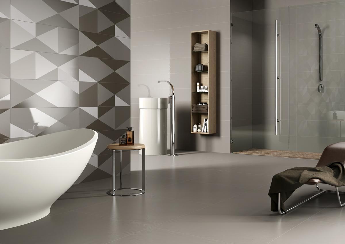 PIASTRELLE EQUILIBRI, bagno moderno ceramica bicottura ...