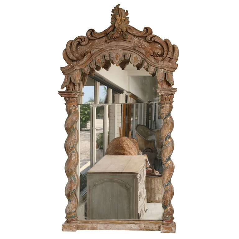 Italian baroque mirror baroque mirror baroque and wall for Italian baroque mirror