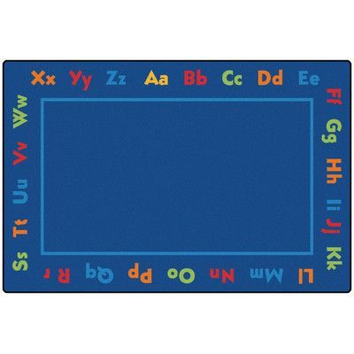 Kids Value Rugs Alphabet Value Kids Rug Rug Size: 6' x 9'