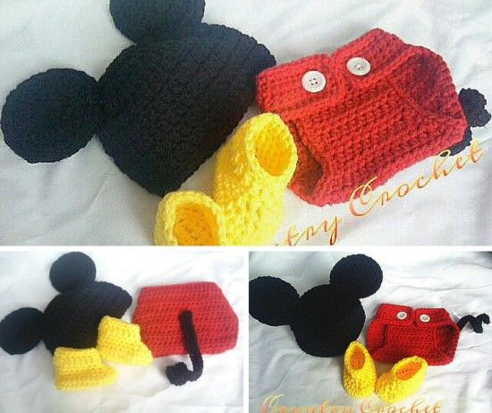 Mickey Mouse Baby Shower Gift Ideas