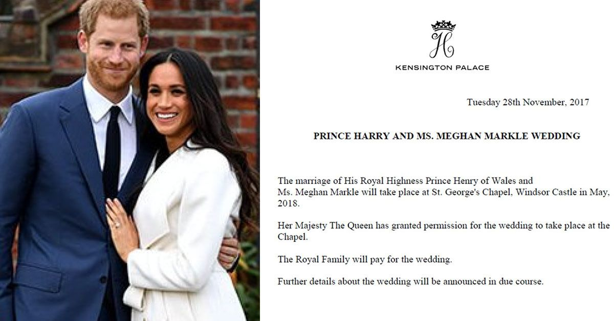 prince harry and fiance meghan markle have announced their wedding date and venue and the queen has a lot to say about it prince harry meghan markle wedding royal wedding harry prince harry meghan markle wedding
