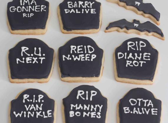 halloween quotes halloween sugar cookies funny tombstone sayings the - Funny Halloween Tombstones