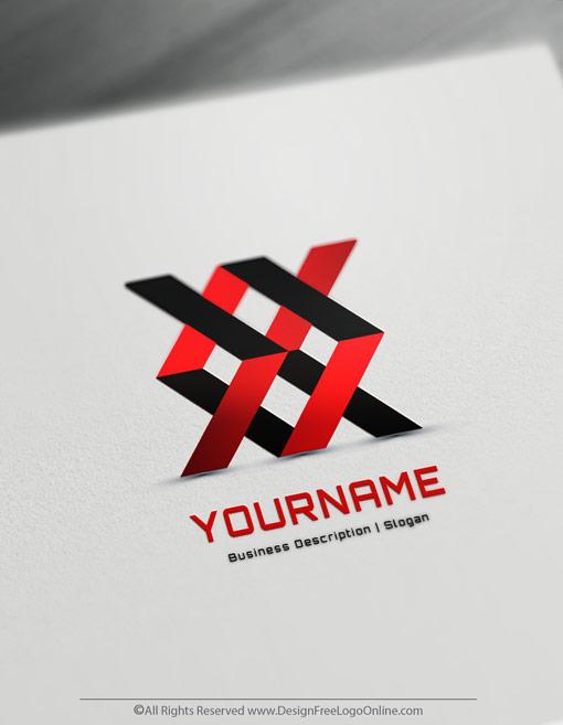 Create Your Own Geometric Logo Design Free 3D Logo Maker