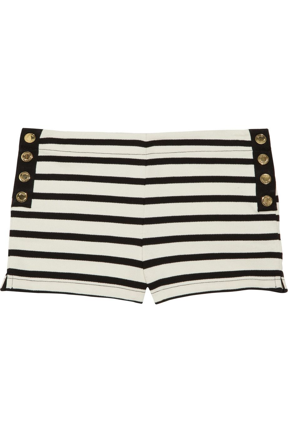 Juicy Couture Striped Cotton Shorts