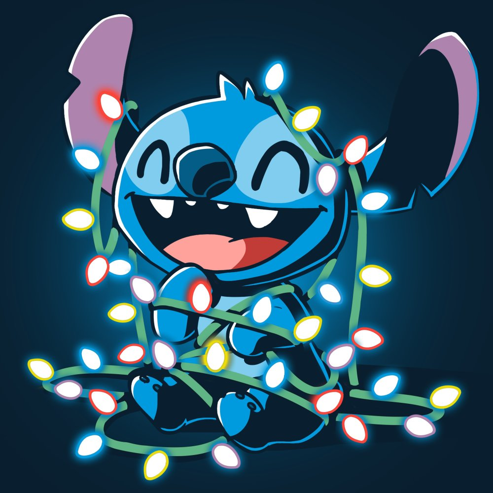 Tangled Up Stitch Official Disney Tee Teeturtle Stitch Disney Cute Disney Drawings Disney Wallpaper