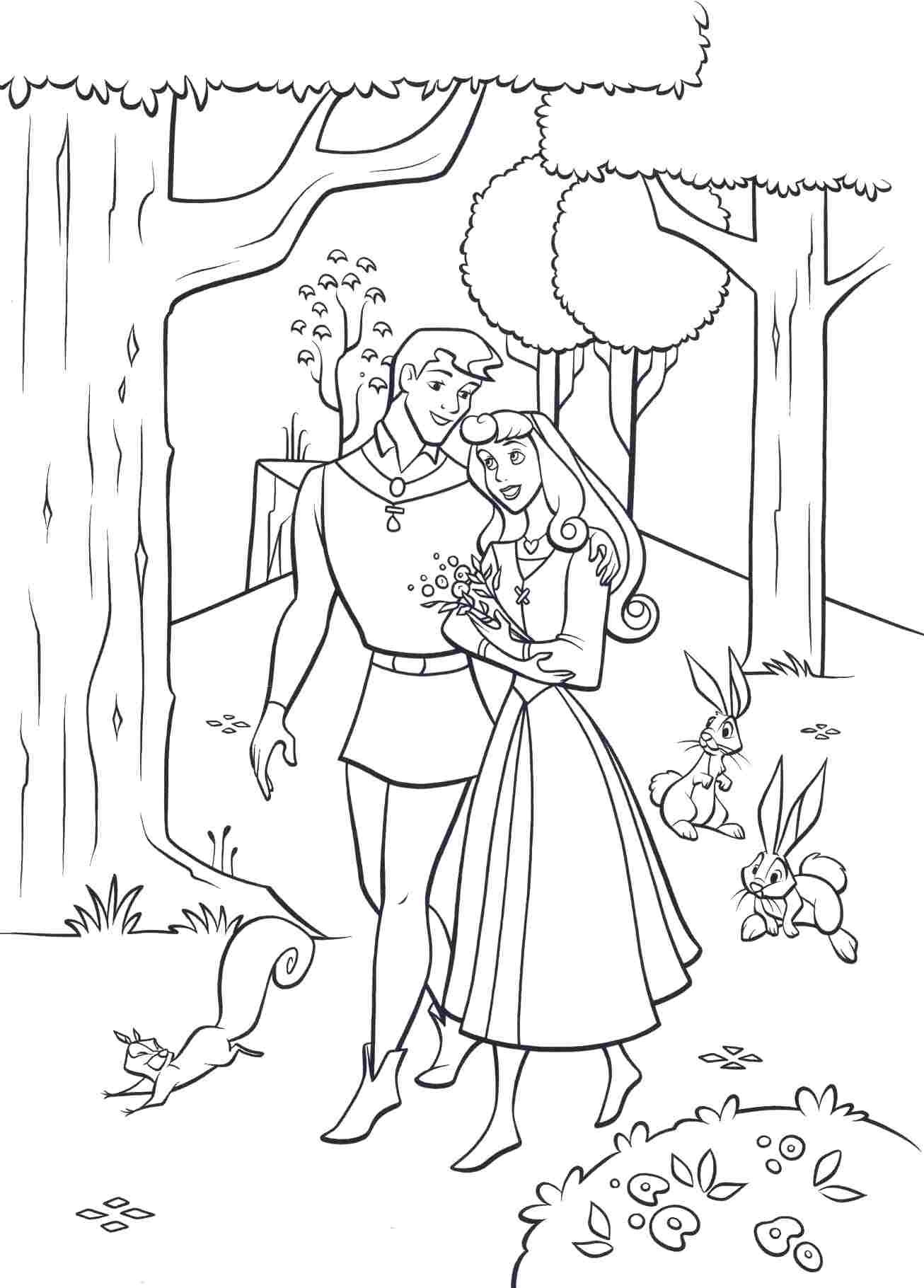 sleeping beauty coloring pages - Google-søgning | Kifestő - Disney ...