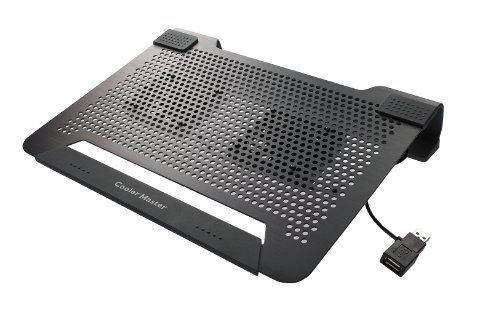 Cooler Master Notepal U2 Laptop Cooling Pad With 2 Movable Fans