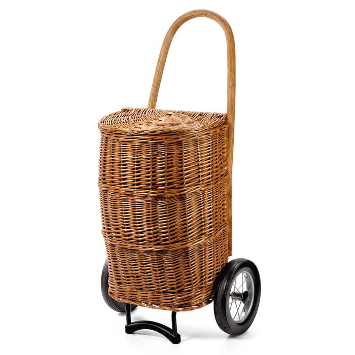 Shopping Basket I Would Get This If I Lived In A City Wicker