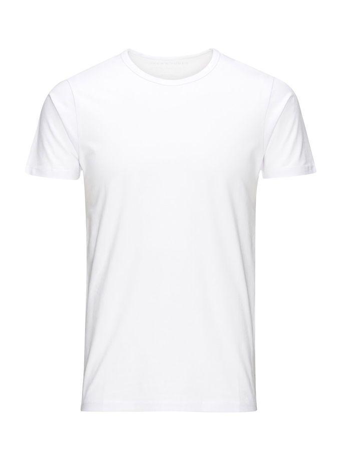 Jack Jones Basic O Neck Regular Fit T Shirt T Shirt Design Template Shirt Template White Tshirt Men