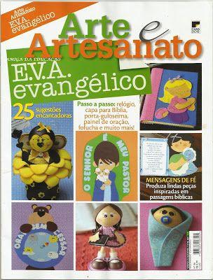 Cristãos kids: Download grátis - Revista artesanato EVA evangélico