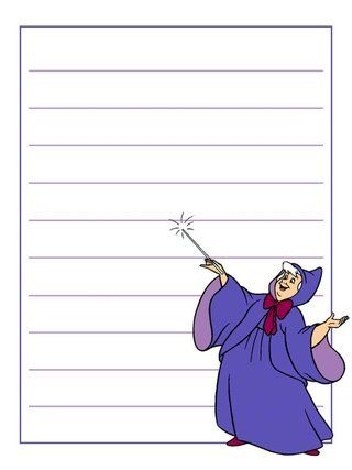 Journal Card - Fairy Godmother - Cinderella - lines - 3x4 photo dis_611_FairyGodmother_lines_3x4.jpg