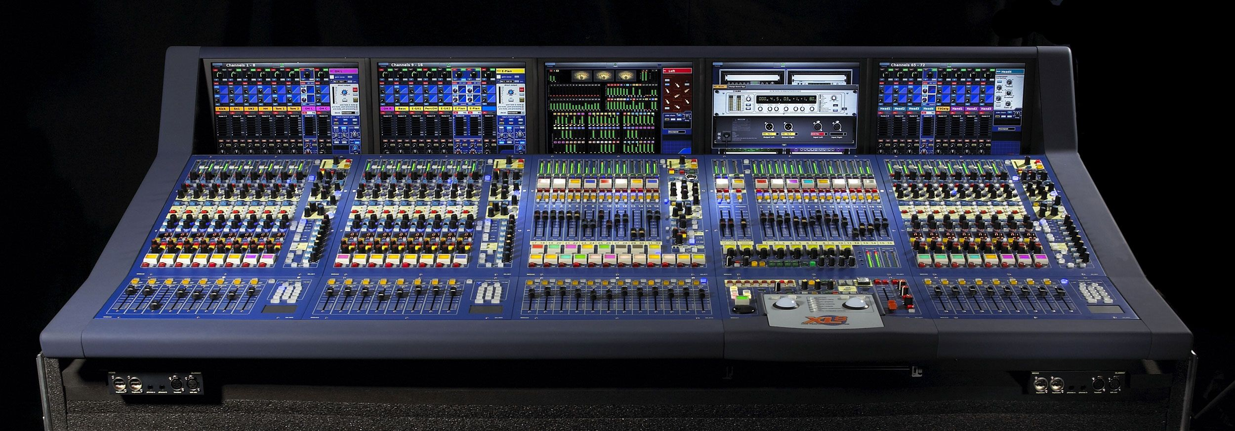 Mesas Digitales Midas Xl8 Console Xl8 112 Ds Tp Touring Package Midas