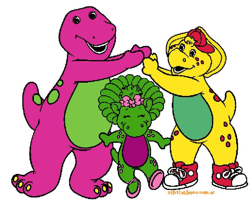 Barney playing London Bridge with BJ and Baby Bop | My Childhood ...
