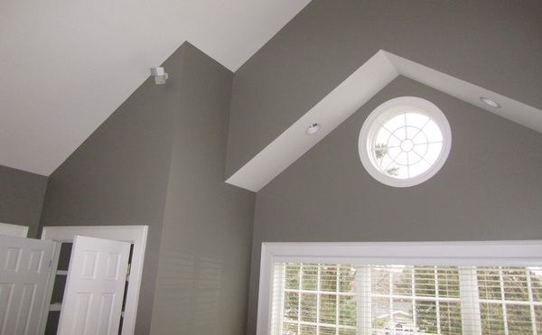 Sherwin Williams Quot Dovetail Gray Quot Living Room Main Wall
