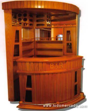 Resultado de imagen para modelos de bares esquineros for Bar madera esquinero