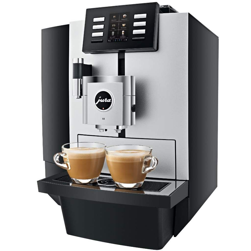 Jura X8 fuldautomatisk espressomaskine #juraimpressa
