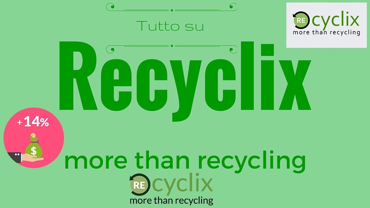 Recyclix - Tutto Quello Che Devi Sapere.. (Tutorial italiano)