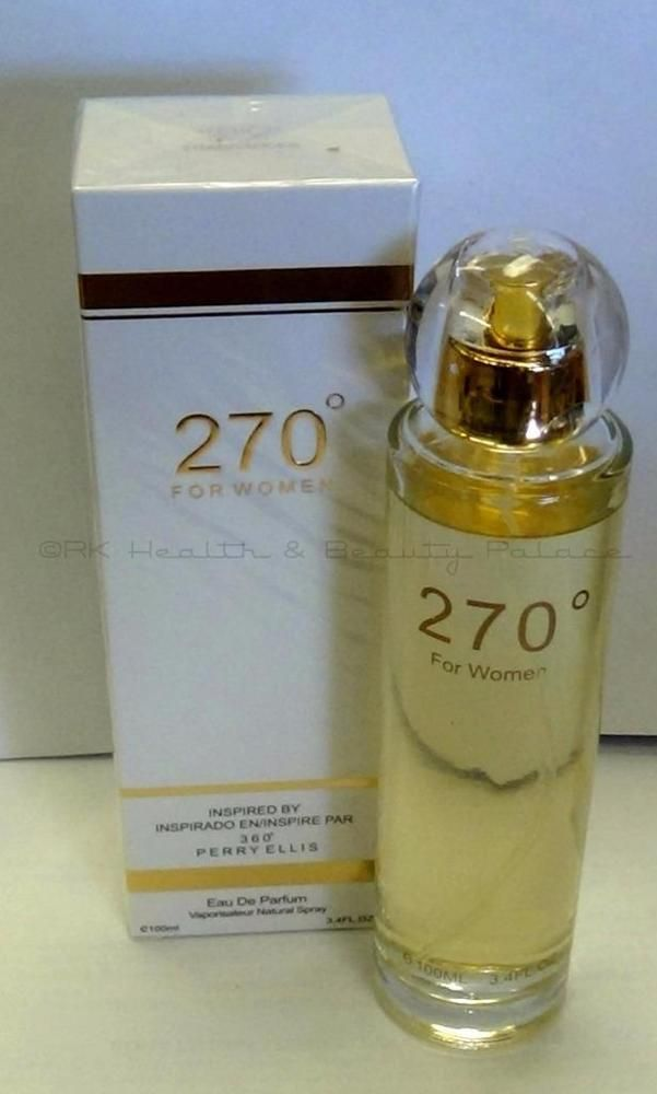 270 Degrees For Womens Perfume 34 Oz Edp Inspired By 360 Perry