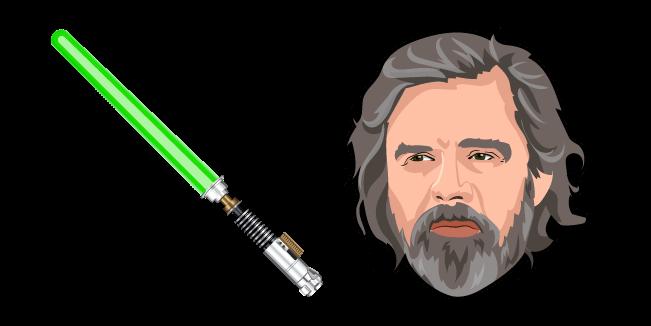 Star Wars Old Luke Skywalker Green Lightsaber Luke Skywalker Green Lightsaber Luke Skywalker Star Wars
