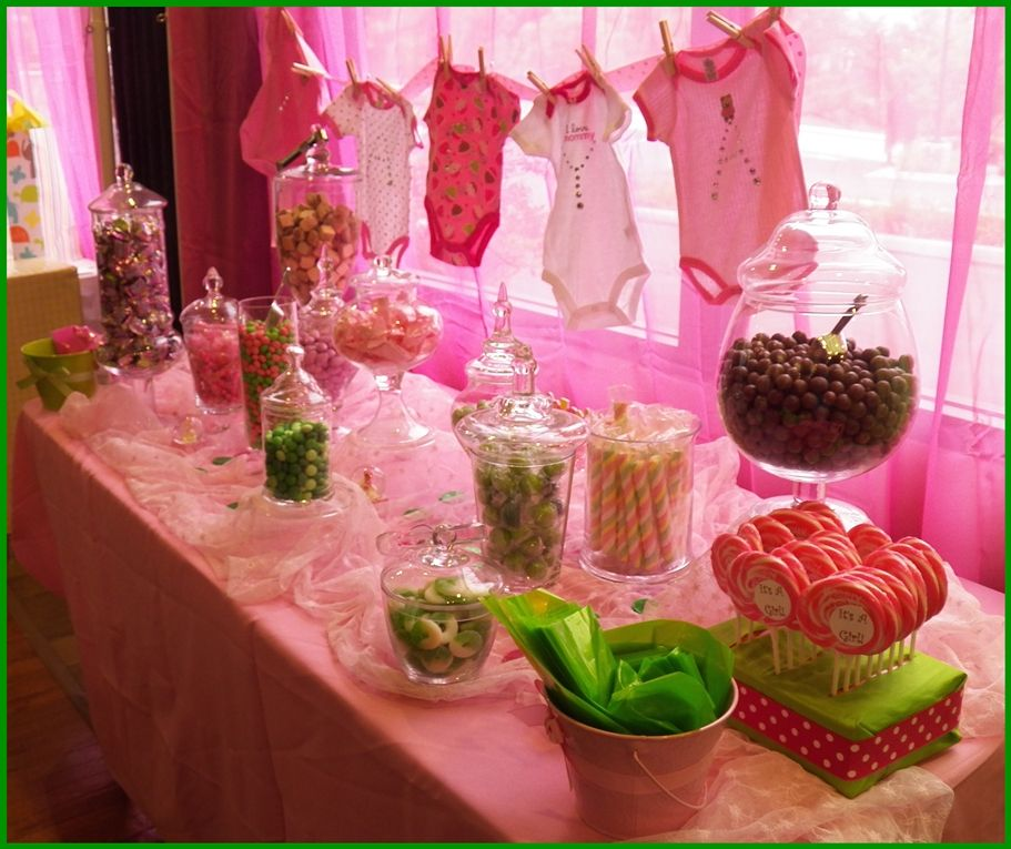 Candy For Baby Shower Ideas: Baby Shower Candy Bar