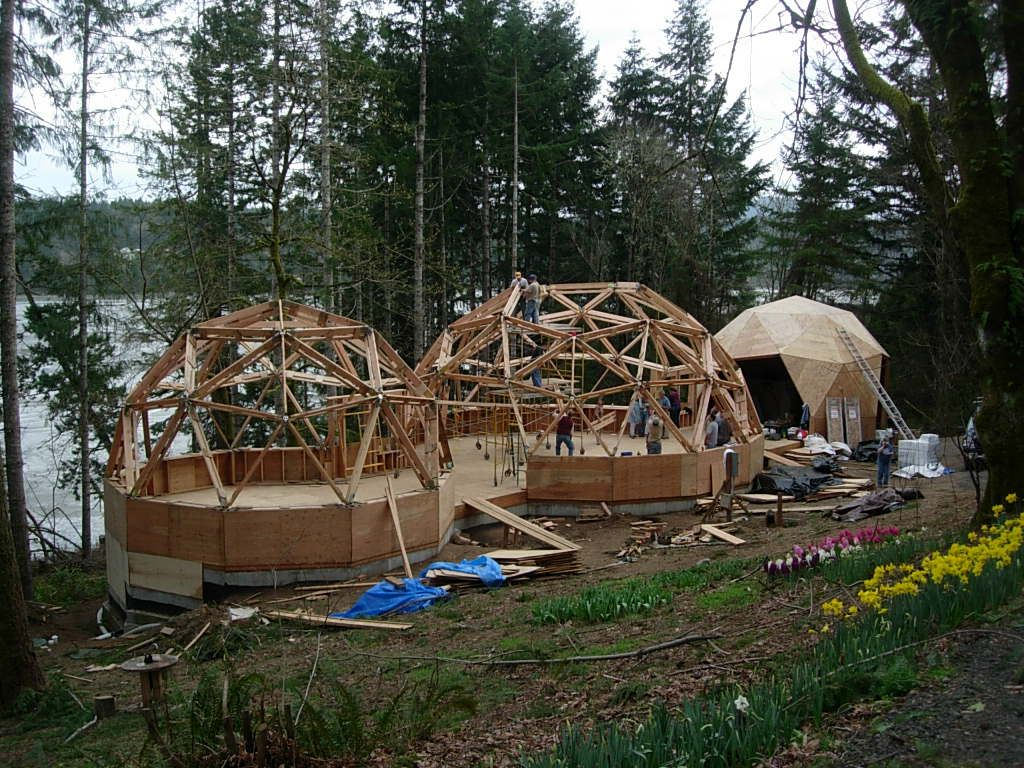 Image result for many geodesic dome dwellings