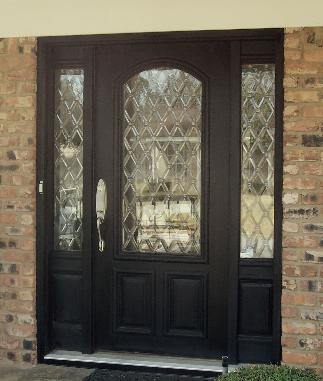 Replace The Old Out Dated Gl In Your Door With A Timeless Leaded Pattern Aaleadedgl