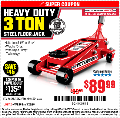 New Craftsman 2 1 4 2 25 Ton Hydraulic Trolley Floor Jack With Case Free Ship Garage Car Lift Car Lifts Floor Jack