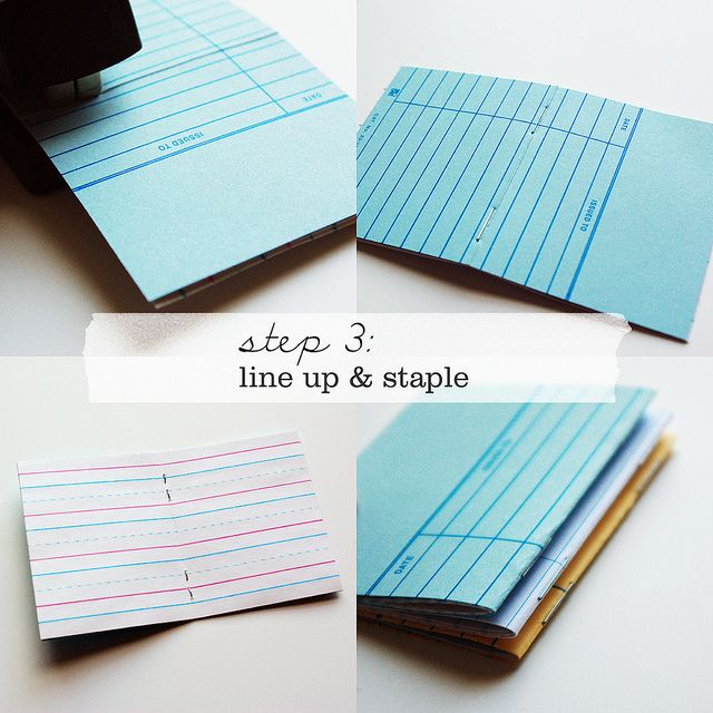 How-to: Little Library Card Notebooks