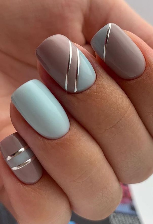 61 Beautiful Acrylic Short Square Nails Design For French Manicure Nails