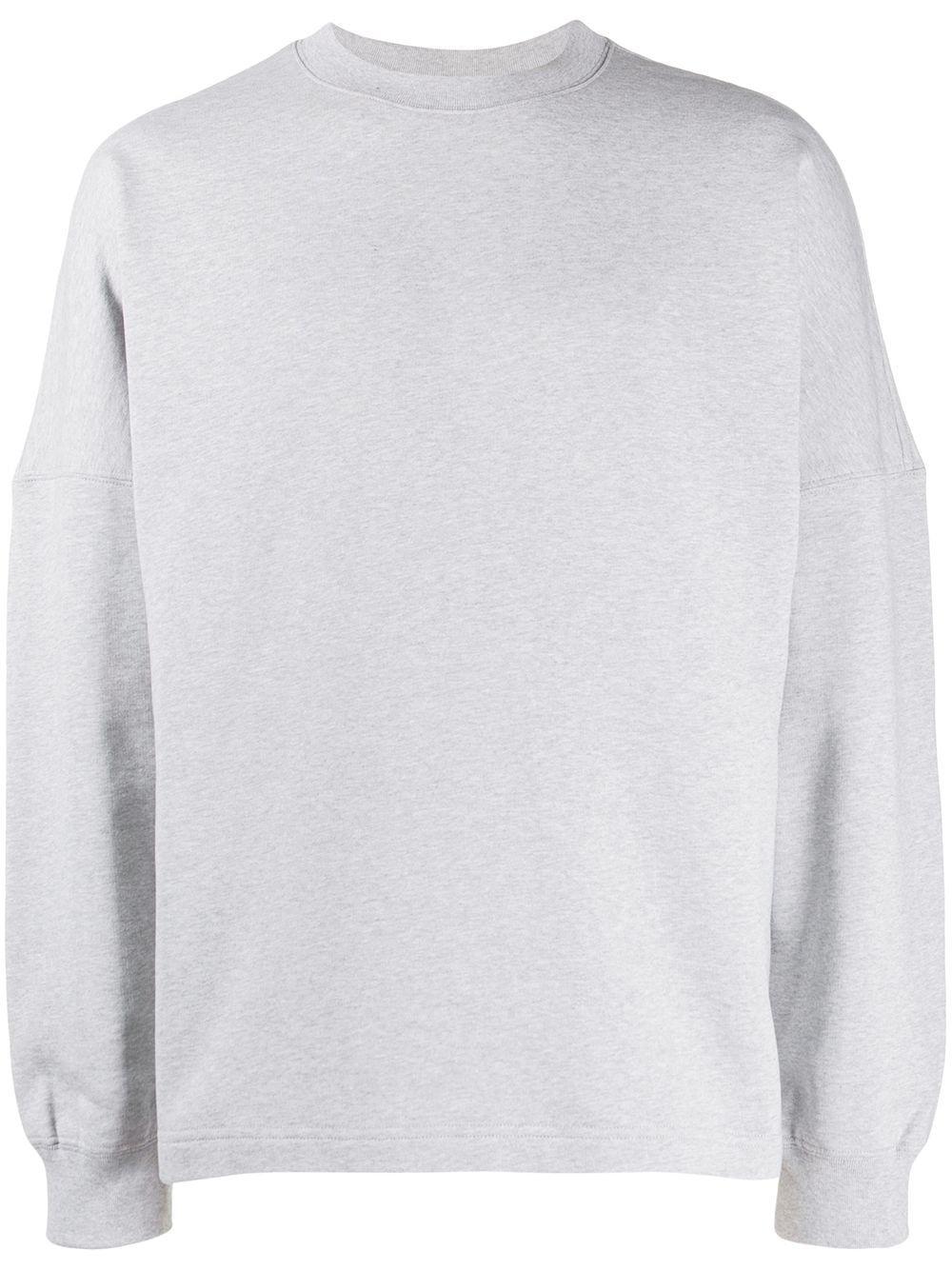 Alexander Wang Back Logo Sweatshirt Sweatshirts Grey Sweatshirt Alexander Wang