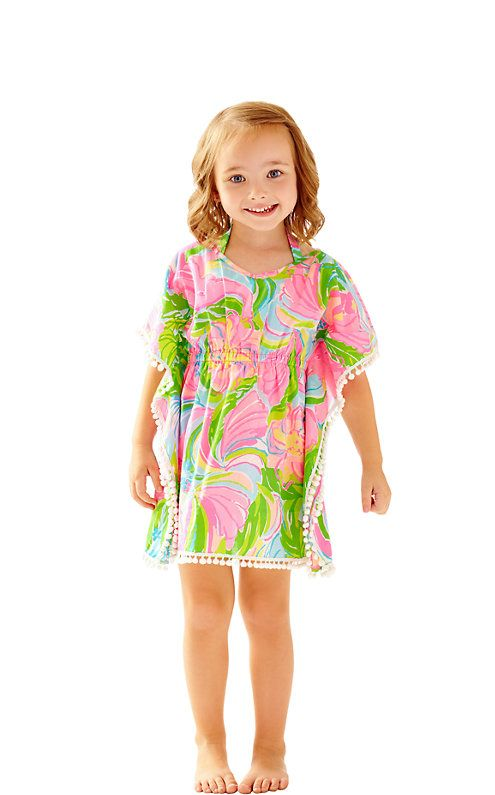 Girls Francesca Caftan Cover-Up - Lilly Pulitzer