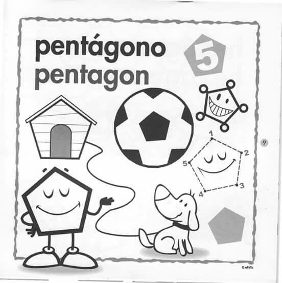 Pentagono Figuras Geometricas Actividades De Figuras Geometricas Figuras Geometricas Para Preescolar