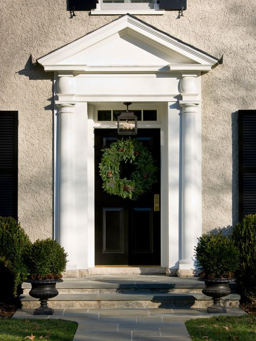 Door Pediment Home Design Ideas Pictures Remodel And Decor