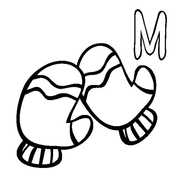 M Is For Mittens Coloring Pages Color Luna Coloring Pages Online Coloring Pages Free Coloring Pages