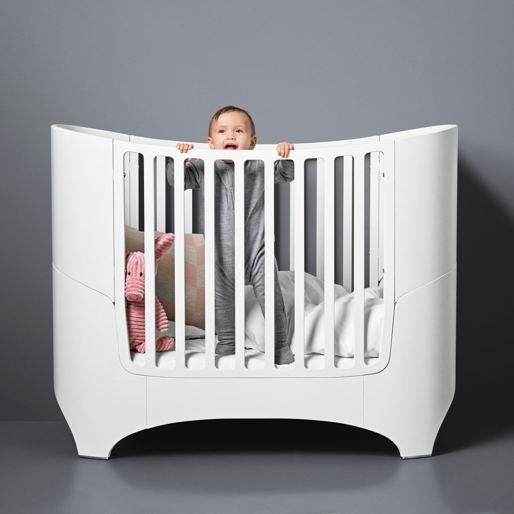 Design Babybett In Weiss Von Leander Praktische Schone