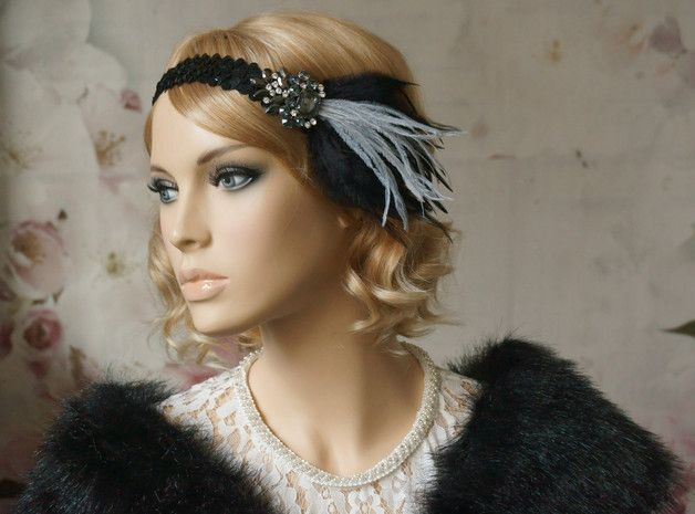 Ein Haarband Für Die Nächste The Great Gatsby Motto Party Ein