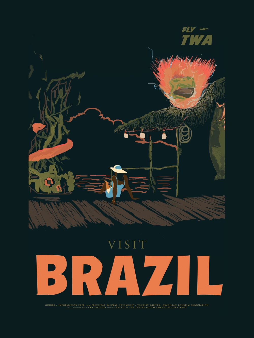 World Warrior Travel Series Brazil By Fro Design Co Travel