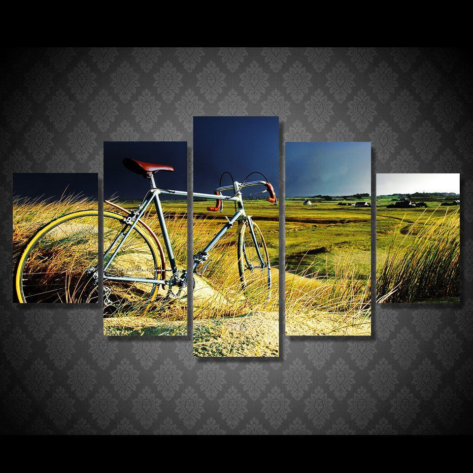 Awesome Vintage Bicycle Wall Decor Inspiration - Wall Art Ideas ...