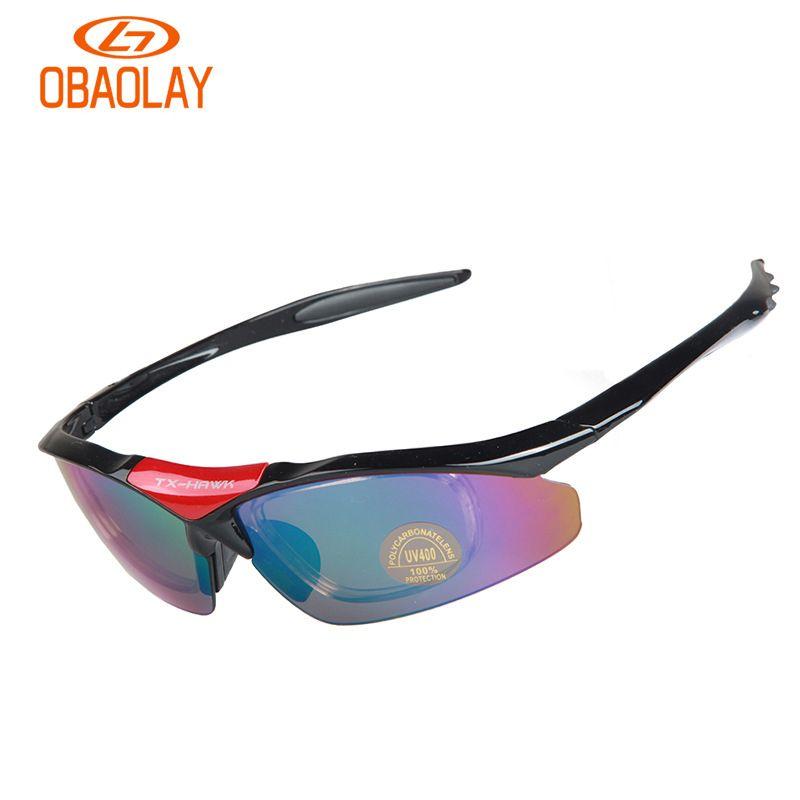 04d3fd3046 OBAOLAY Polarized UV400 Cycling Glasses Bicycle Eyewear Unisex 5 Lens  Riding MTB Bike Sunglasses Outdoor Sport