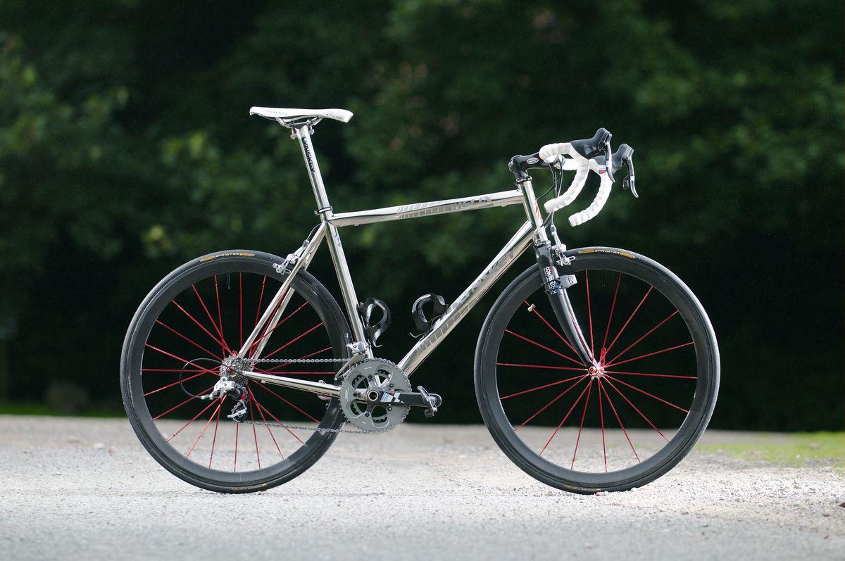 Lynskey Helix The Shiniest Bike In The World Titanium Road Bike