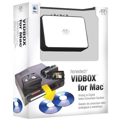 Honestech VIDBOX for Mac Cool things to buy, Vhs to dvd